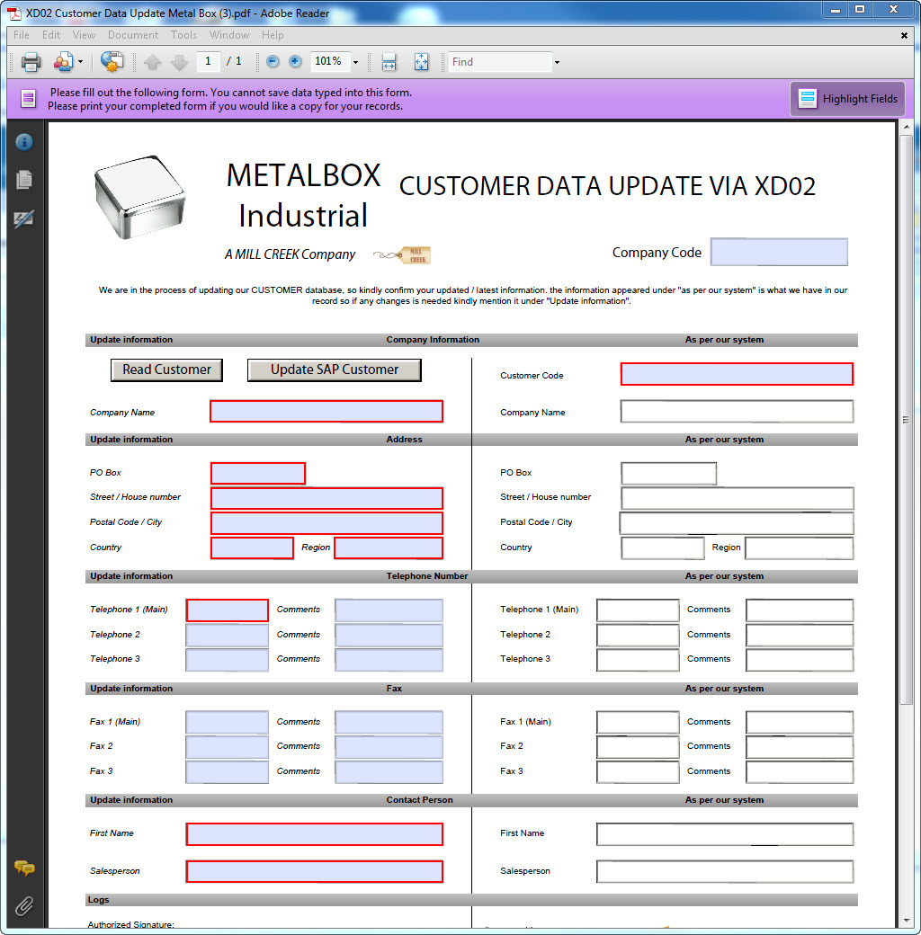 Gestion Donnees Base Clients Xd01 Xd02 Solutions Sap Winshuttle