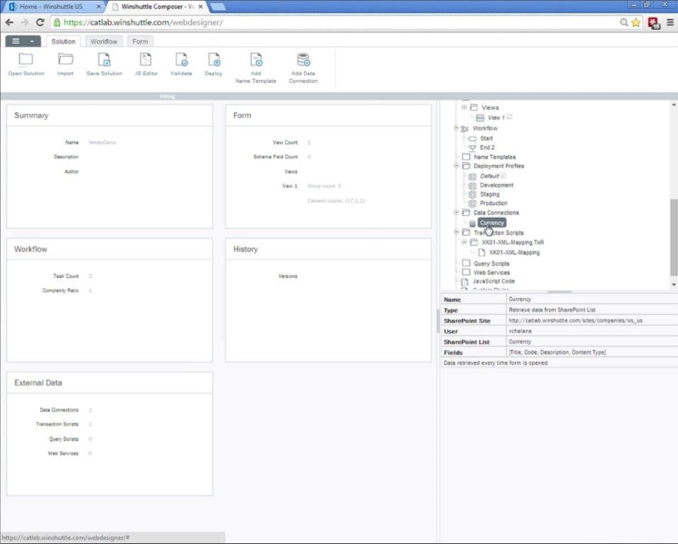 Integrated Authoring Environment
